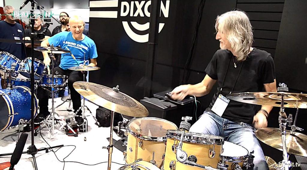 NAMM 2017: Gregg Bissonette i Jerry Gaskill na żywo