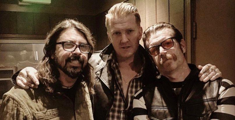 Dave Grohl, Josh Homme i Jesse Hughes razem w studio?