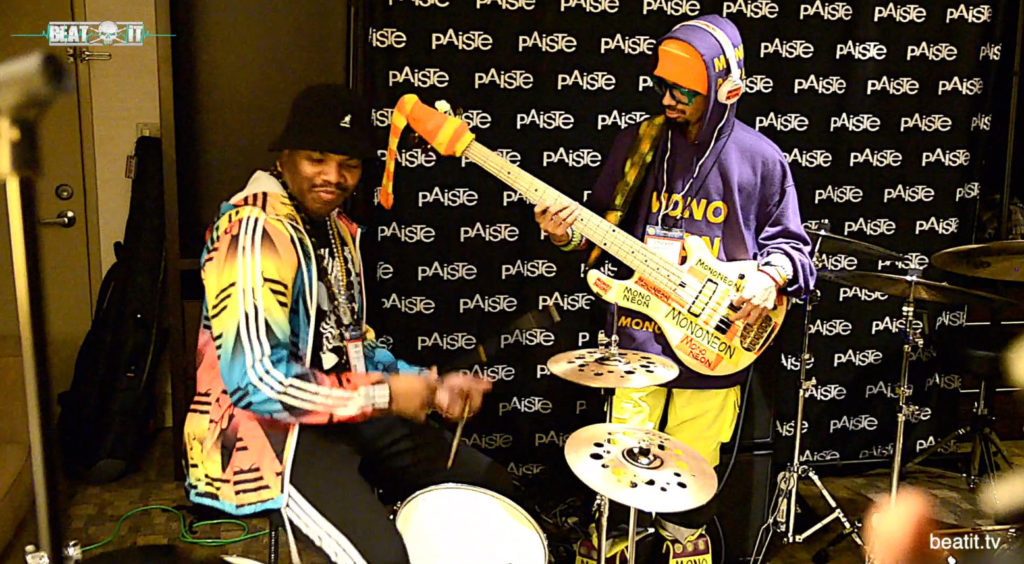 Daru Jones Paiste NAMM 2017
