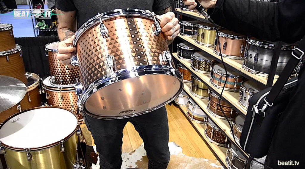 Q Drum Co. NAMM 2017
