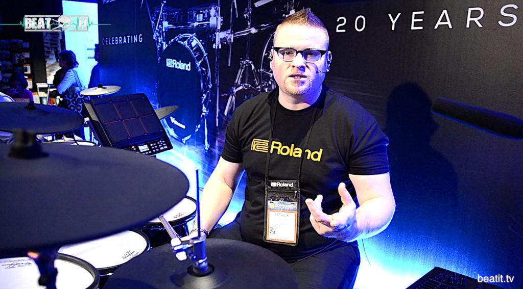 Pat Kennedy prezentuje moduł Roland TM-50 dla beatit.tv
