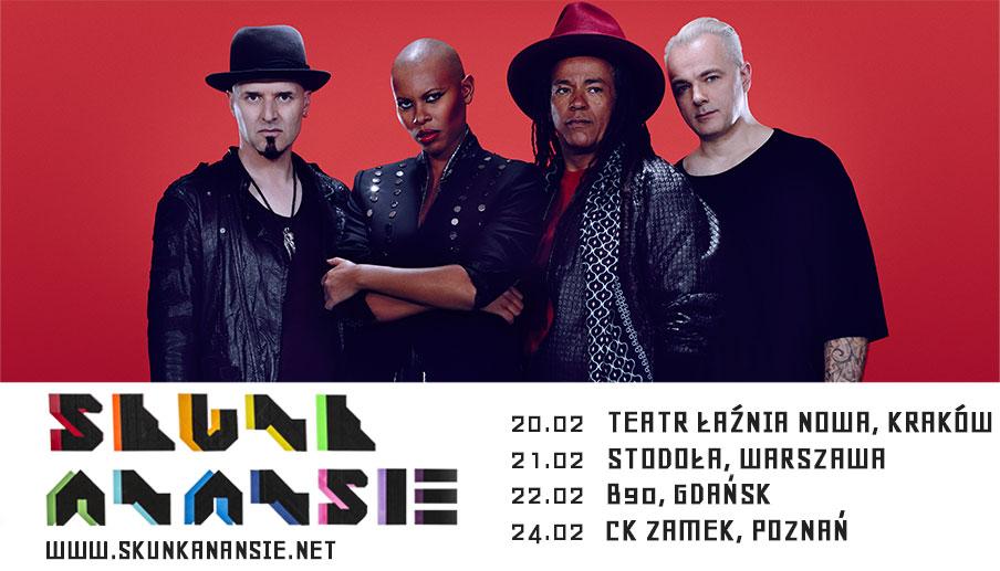 Skunk Anansie z koncertami w Polsce