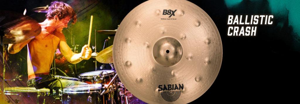 Nowy crash z serii Sabian B8X