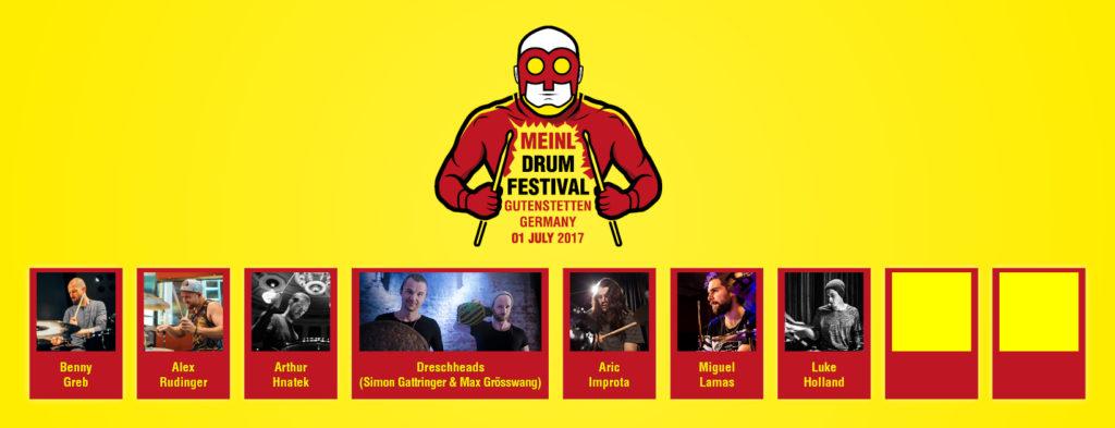 Nowe gwiazdy na Meinl Drum Festival 2017