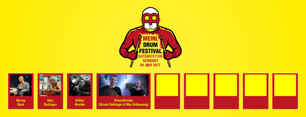 drescHHeads na Meinl Drum Festival 2017
