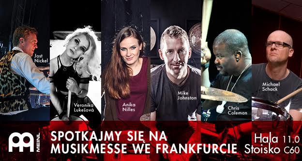Artyści Meinl Cymbals na Musikmesse we Frankfurcie