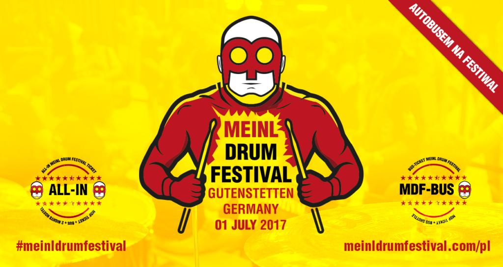 Autokary na Meinl Drum Festival 2017