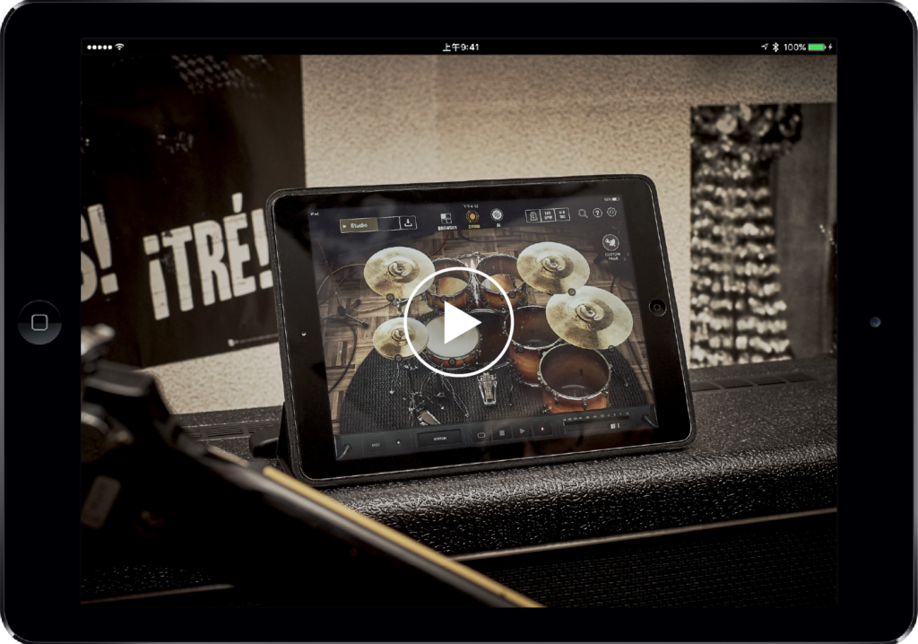 Nowa aplikacja perkusyjna firmy Positive Grid