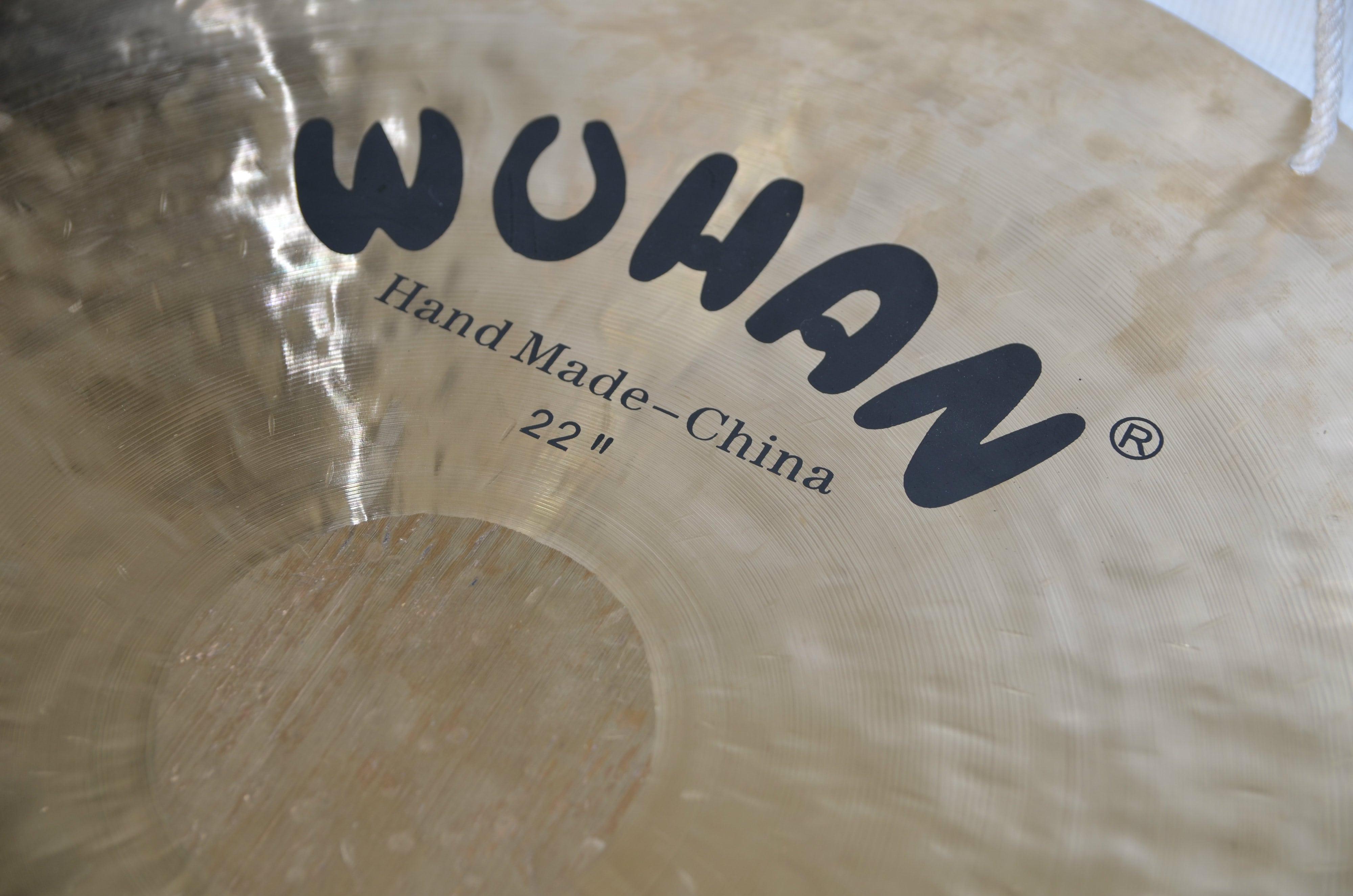 Test BeatIt: gong Wuhan Wind Gong 22″