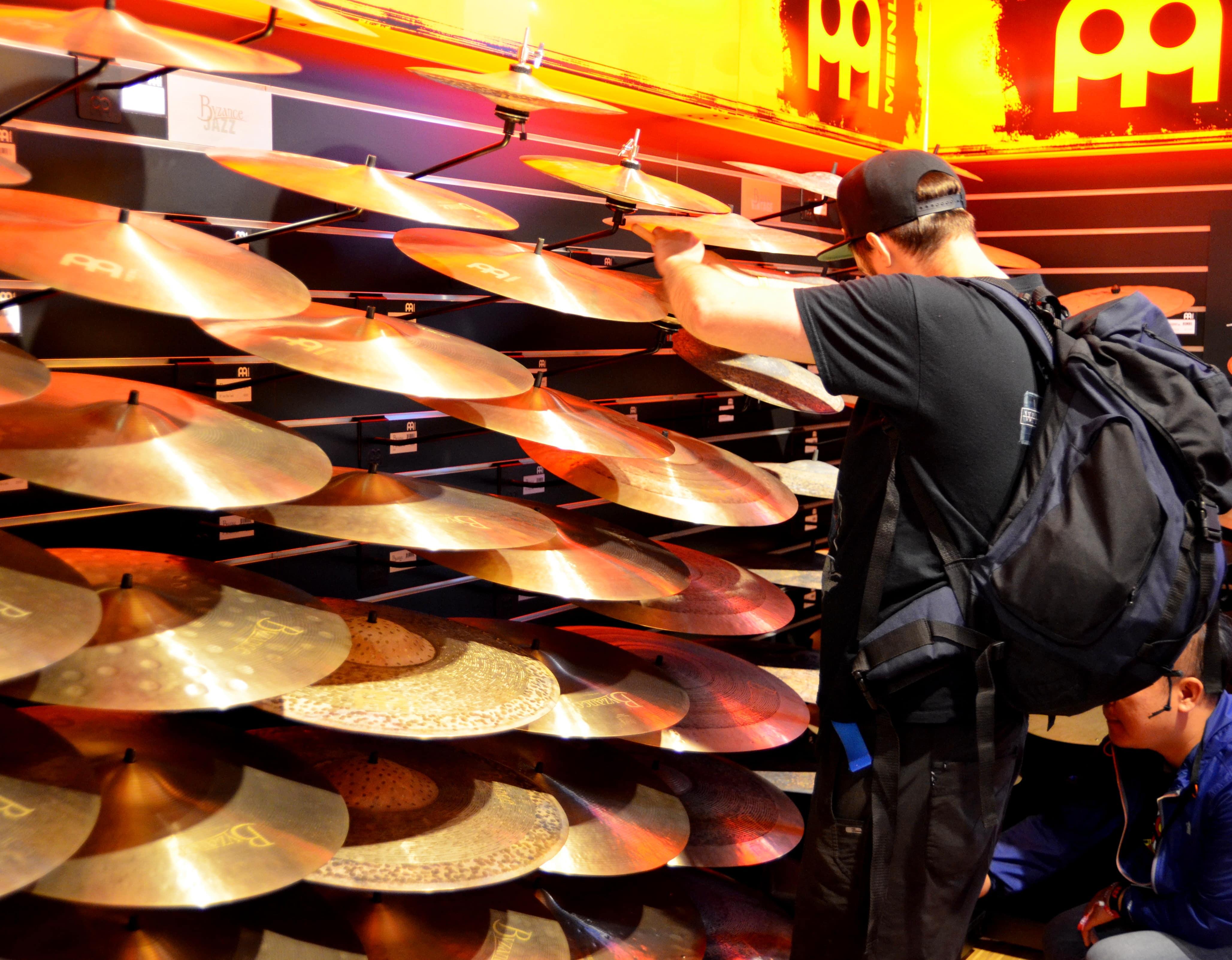 Meinl Drum Festival talerze