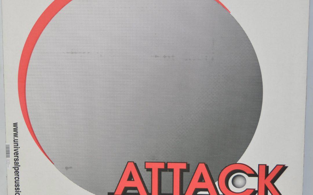 Test BeatIt – Komplet naciągów jednowarstwowych medium ATTACK DRUMHEADS