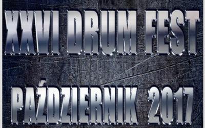 Nadchodzi XXVI Międzynarodowy Festiwal DRUM FEST