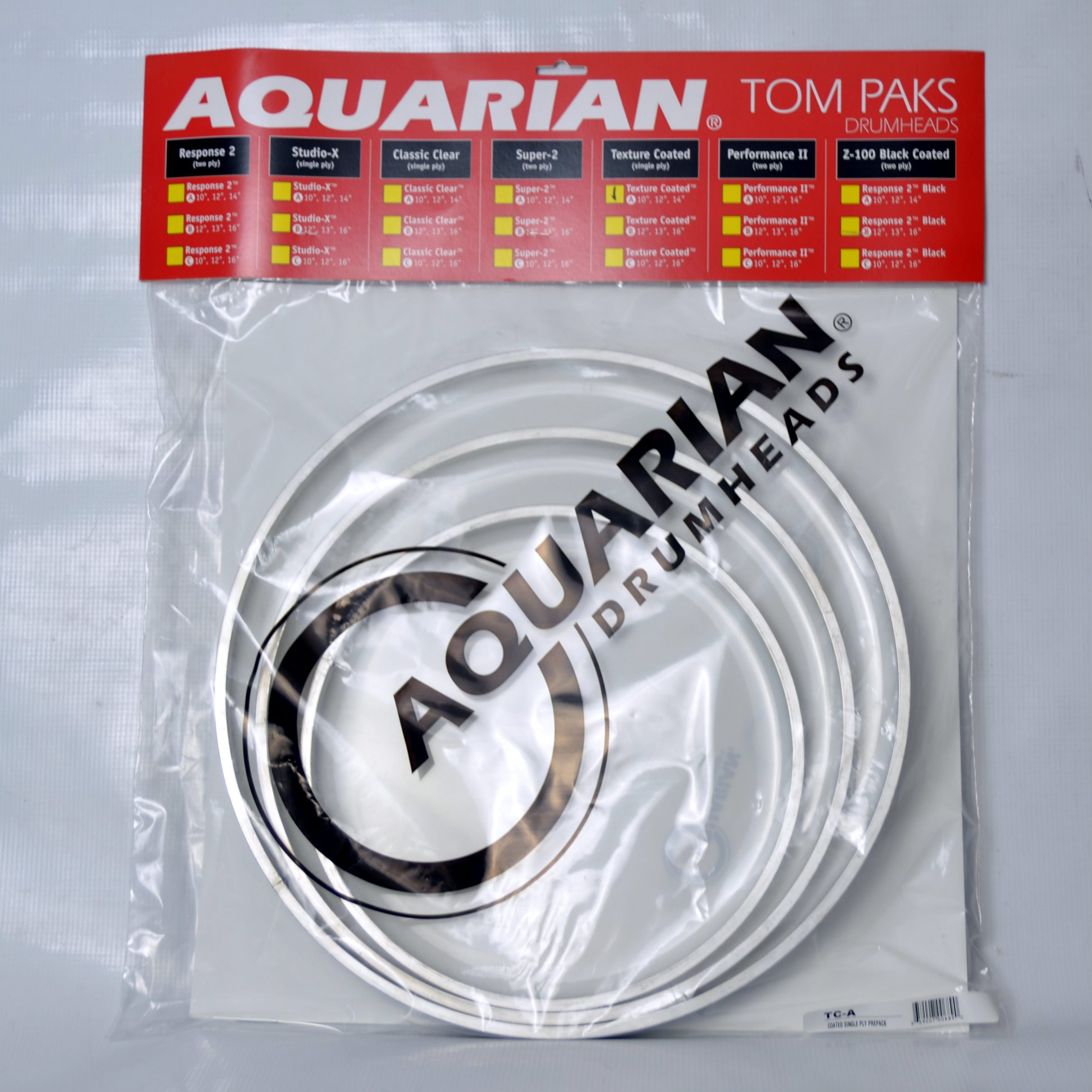 Test naciągów marki Aquarian
