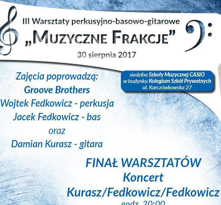 """III warsztaty """"Muzyczne Frakcje"""" w Kielcach"""