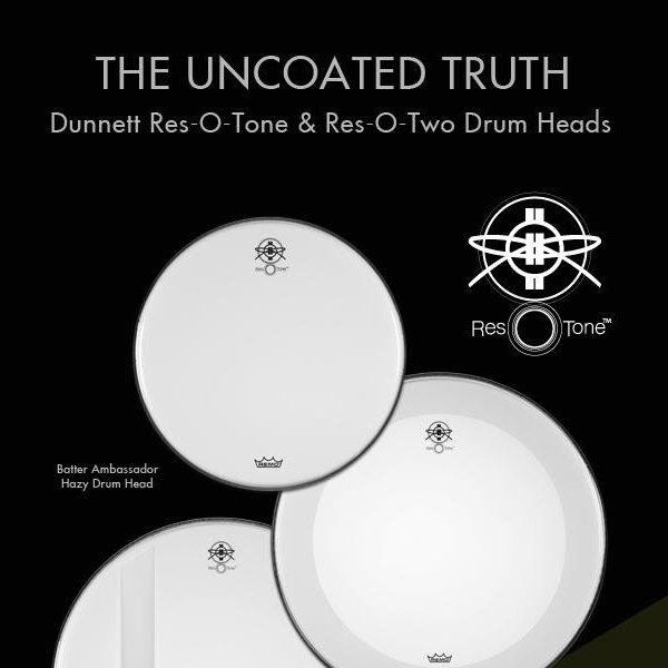 Naciągi Dunnett Res-O-Tone i Res-O-Two firmy Remo