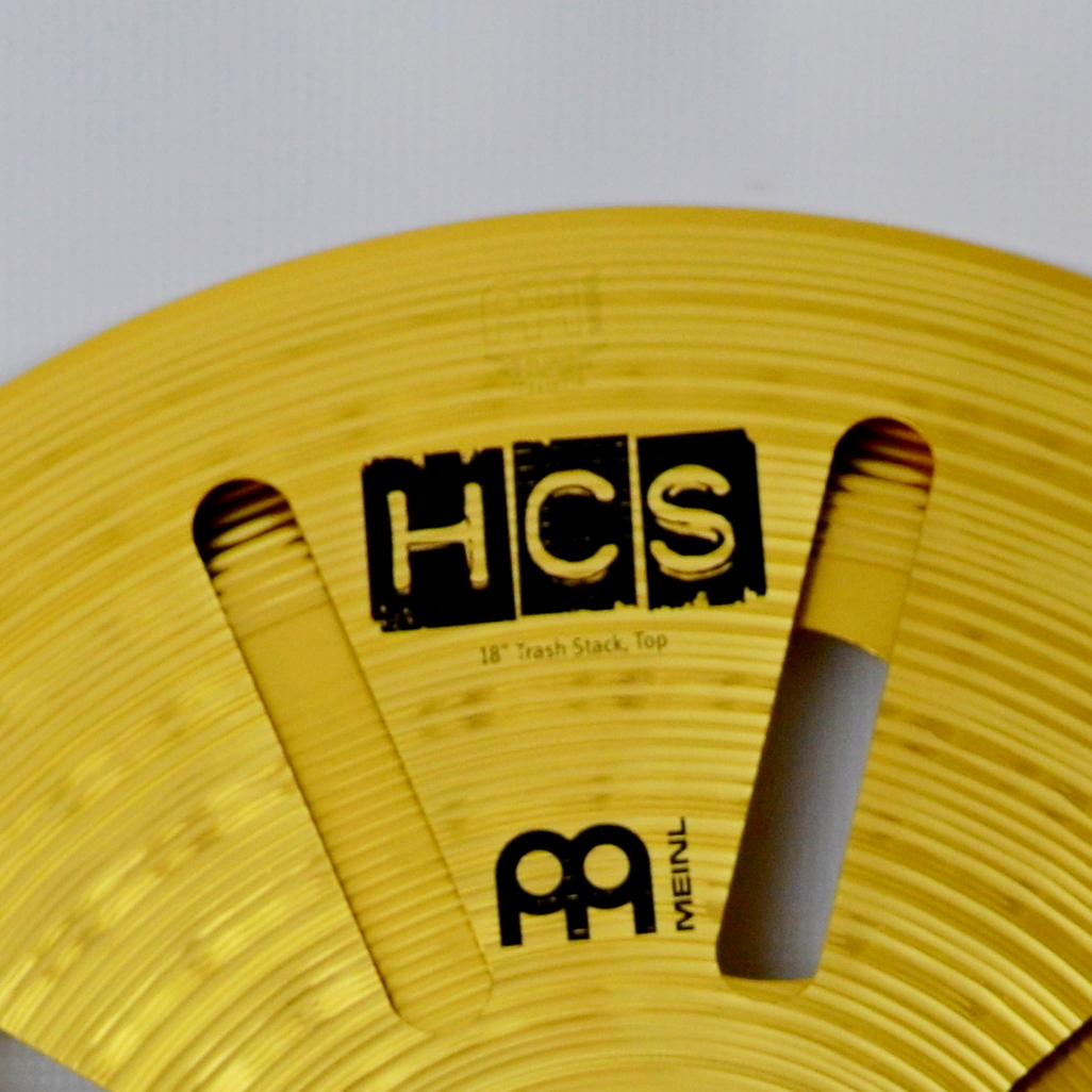 Meinl HCS trash stack logo
