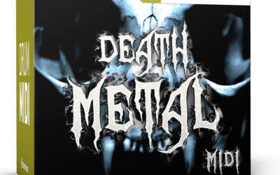 Toontrack prezentuje Death Metal MIDI Pack