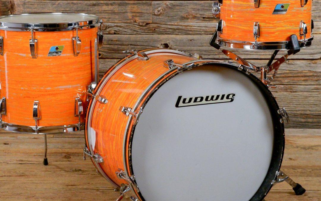 Ludwig powraca z wykończeniem Mod Orange
