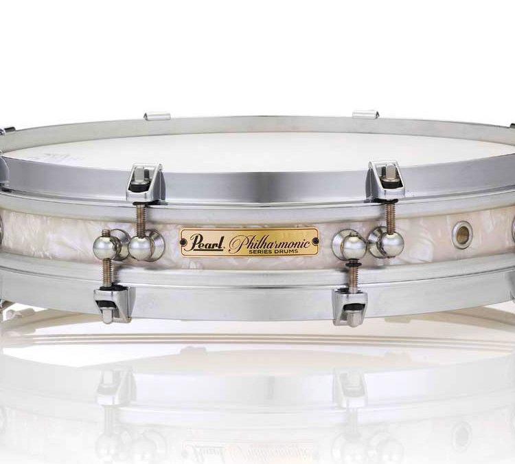 Pearl przedstawia werbel Philharmonic Pancake Snare