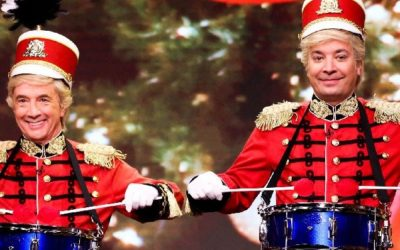 Jimmy Fallon jako świąteczny dobosz