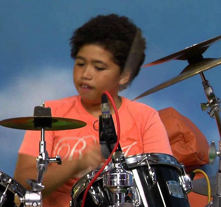 Czternastoletni perkusista nagrodzony przez Baracka Obamę