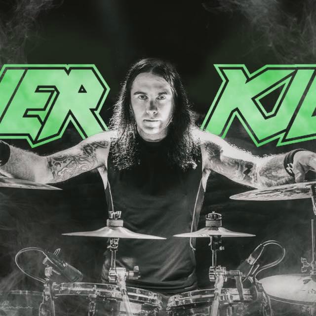 Jason Bittner perkusistą Overkill