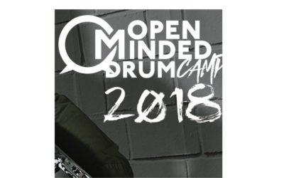 Nadchodzi Open Minded Drum Camp 2018