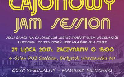 Cajonowy Jam Session w Białymstoku