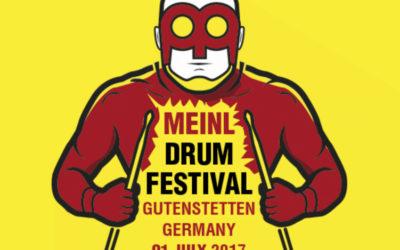 Alex Rudinger drugą gwiazdą Meinl Drum Festival 2017
