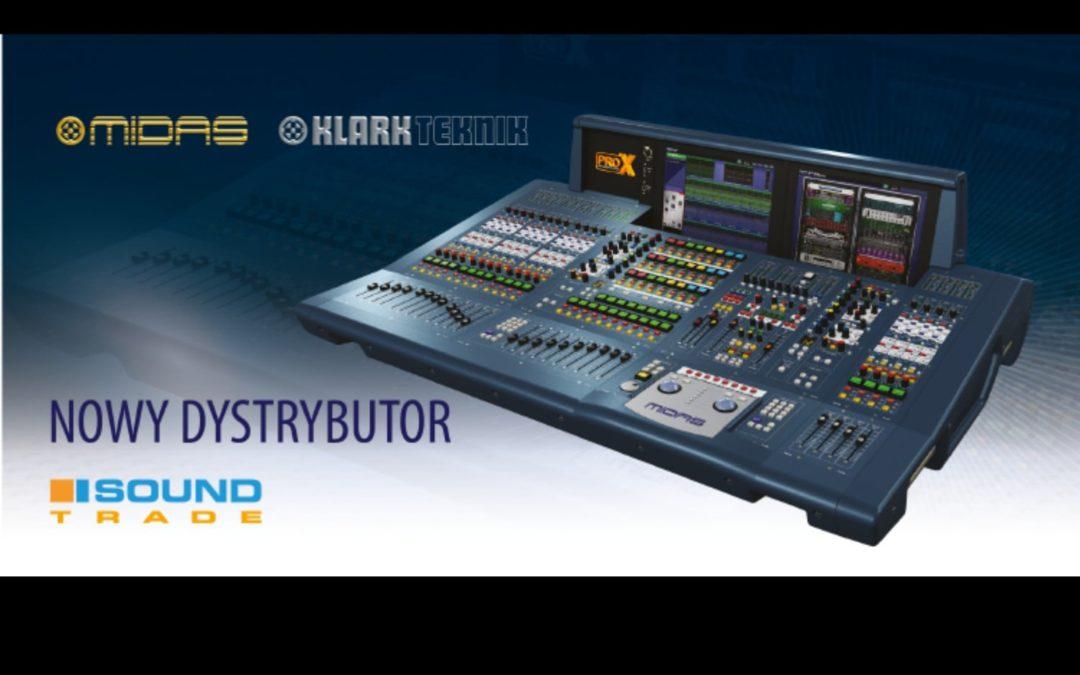 Firma Soundtrade dystrybutorem marek Midas i Klark Teknik