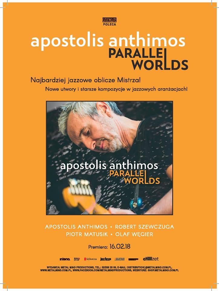 """Apostolis Anthimos """"Parallel Worlds"""" beat.tv"""