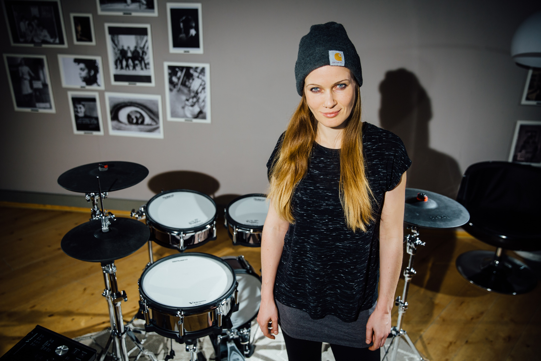 Anika Nilles artystką Roland V-Drums
