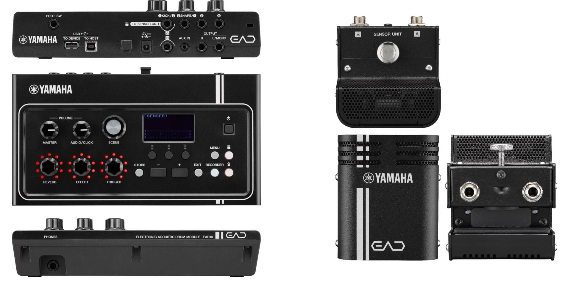BeatIt testuje moduł Yamaha EAD10 z triggerem