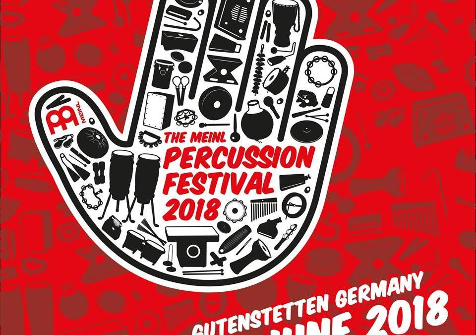 "Meinl Percussion Festival 2018: warsztaty ""World of Sound"""