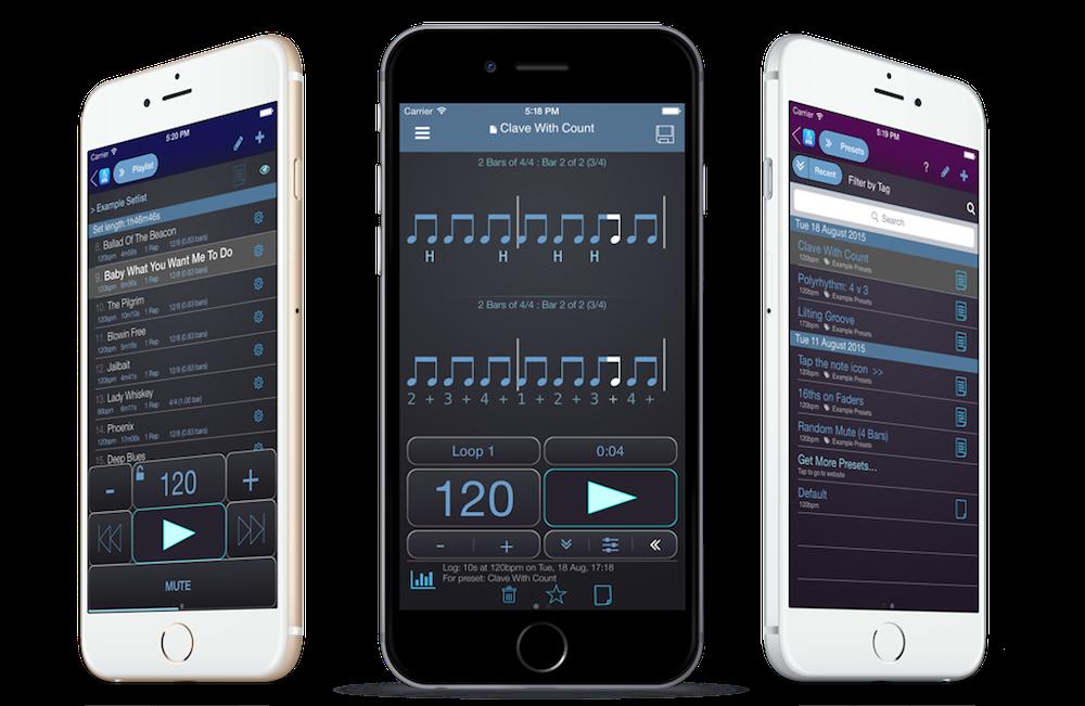 aktualizacje aplikacji metronomu PolyNome