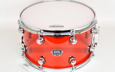 BeatIt testuje: werbel Natal Arcadia Transparent Red 14x8
