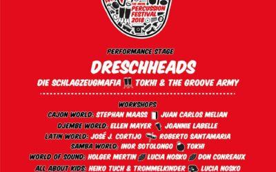 Meinl Percussion Festival 2018: pełna lista wydarzeń