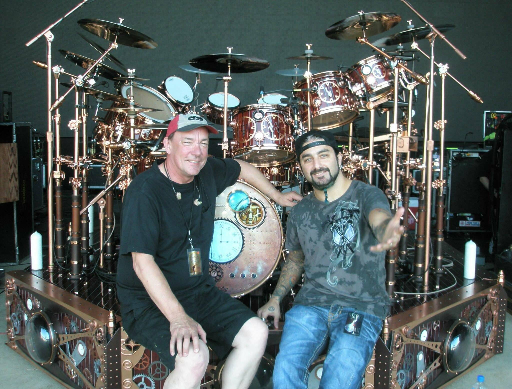 Neil Peart i Mike Portnoy