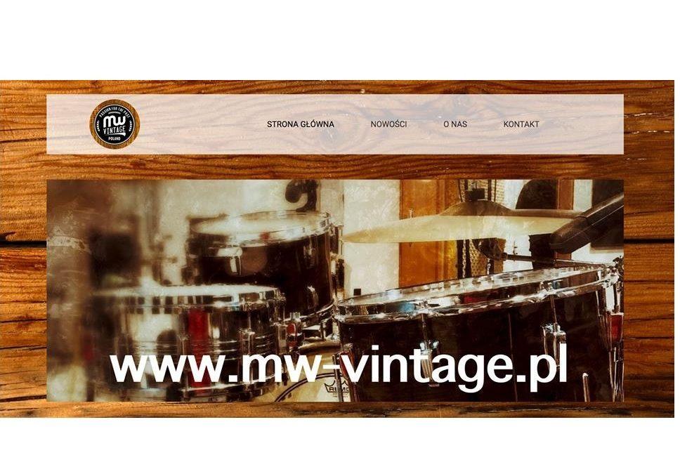 Rusza strona sklepu MW Vintage