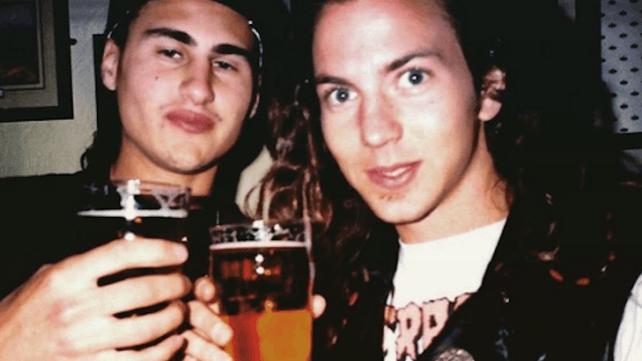 Brad Wilk i Eddie Vedder (zdjęcie: Ultimate Guitar)