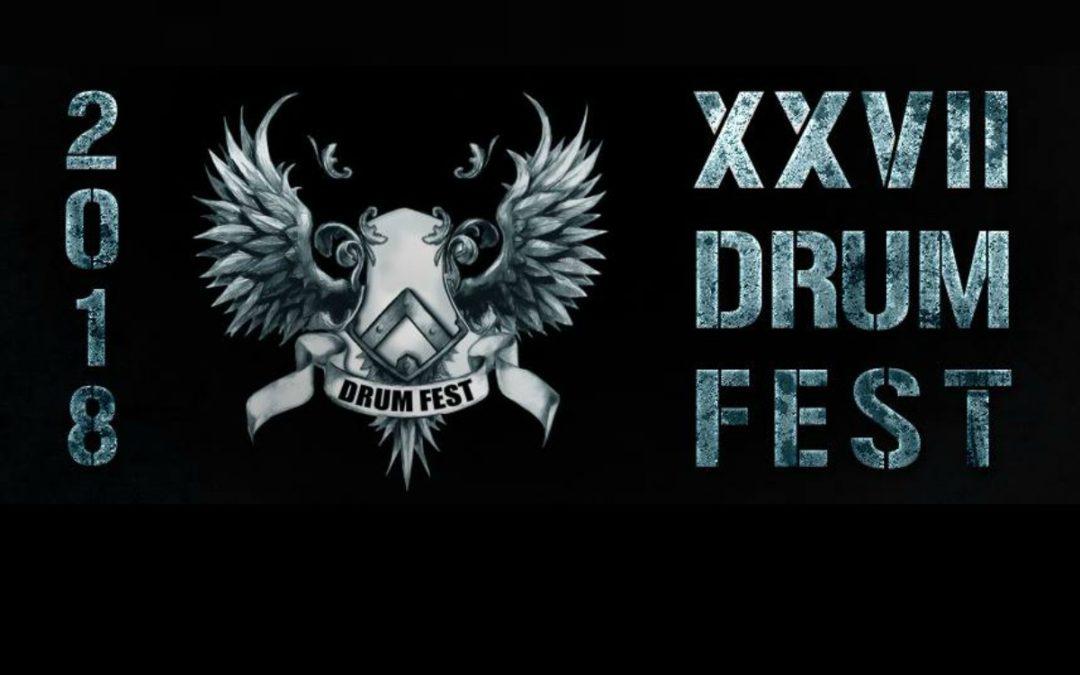 Kolejne gwiazdy festiwalu Drum Fest 2018