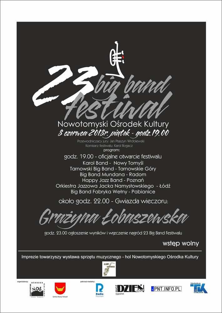 23. Big Band Festiwal plakat
