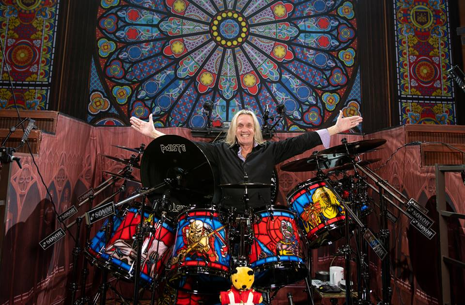 Nicko McBrain Sonor Legacy Of The Beast