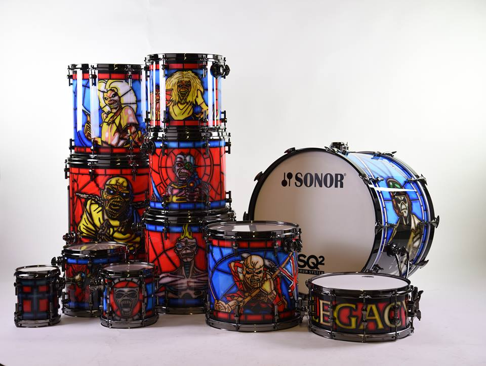 Nicko McBrain: Sonor Legacy Of The Beast
