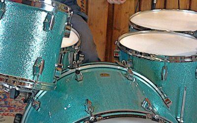 Vintage Test BeatIt: zestaw perkusyjny Fibes Drums z lat 90.