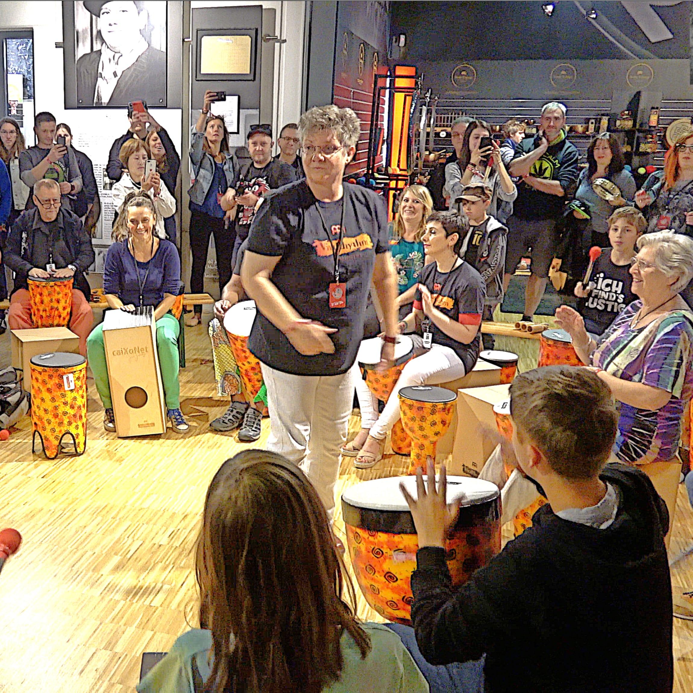 Ricarda Raabe krąg perkusyjny