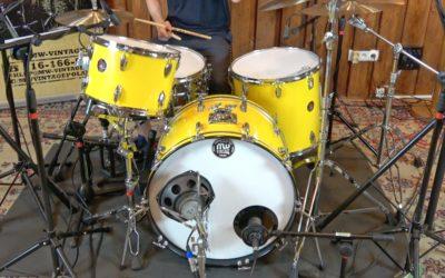 Vintage Test BeatIt: zestaw perkusyjny Beverley z lat 70.