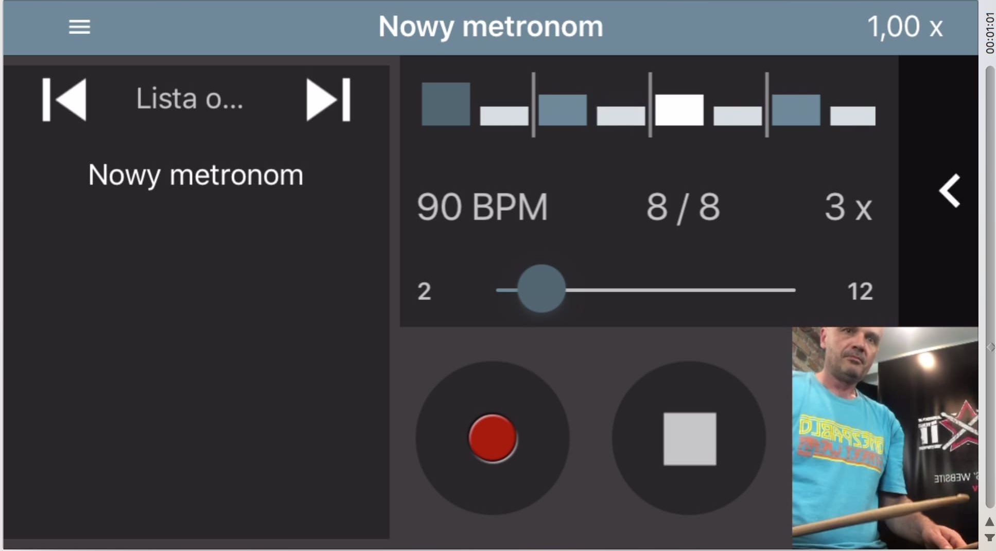 metronom Camtronome