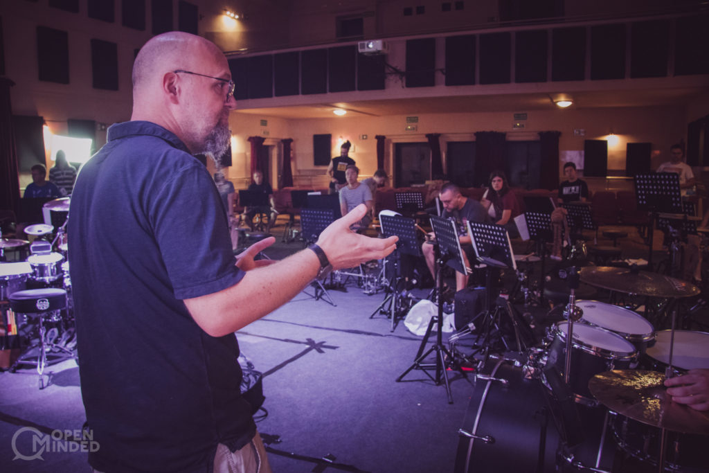 Open minded drum camp 2018 Claus Hessler