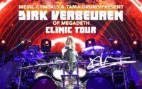 Dirk Verbeuren - Megadeth z serią warsztatów w Polsce i na Węgrzech